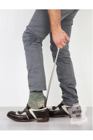 Calzascarpe lungo in metallo 55 cm