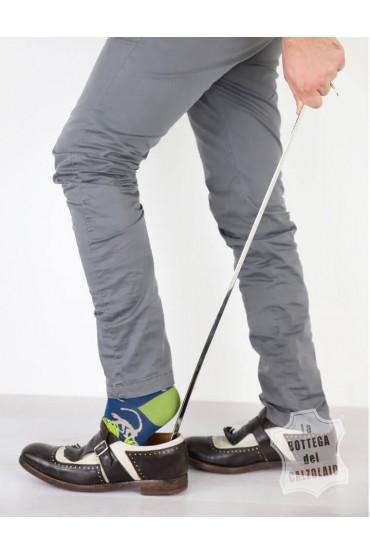 Calzascarpe lungo in metallo 70 cm
