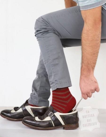 Calzascarpe corto in metallo 15 cm