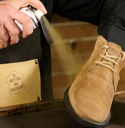 la bottega del calzolaio prodotti per il camoscio