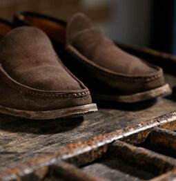 la bottega del calzolaio scsarpe in camoscio